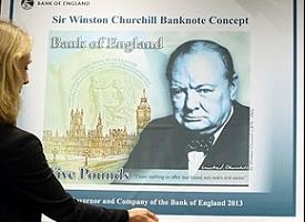 Пластиковые банкноты достоинством в 5 фунтов стерлингов